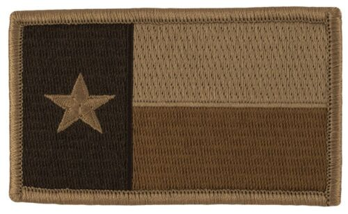 Tactical Morale Patch (M22) Subdued Desert Colors Texas State Flag 17395Reproductions - 156470