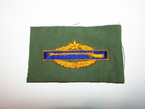 b9455 US Army Vietnam Combat Infantry Badge Prototype gold 6th Award unfl  IR13AReproductions - 156445