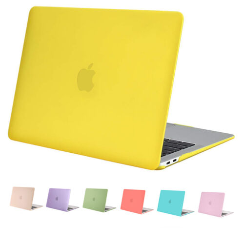 Mosiso Lid Rubberized Shell Case Cover for Macbook Air 11 13 inch