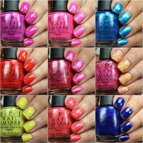 OPI Spring Summer **BRIGHTS** Neon Nail Polish Lacquer Collection *U PICK COLOR*