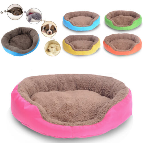 Pet Dog Cat Beds Cushion House Puppy Dog Soft Warm Kennel Cat Mat Blanket In US