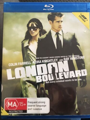 London Boulevard (Blu-ray, 2012) Colin Farrell, Keira Knightley- Fast Post!