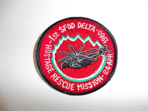 b5397 US Iran Hostage Rescue Mission 24 April 1980  1st SFOD Delta IR35BReproductions - 156447