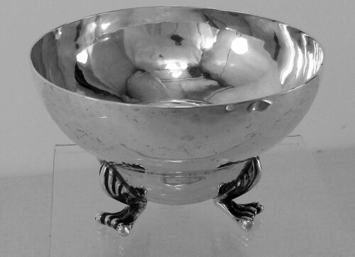 Hand Made Waste Bowl  to Match Jensen's Blossom Tea Set Sterling Silver, No Mono