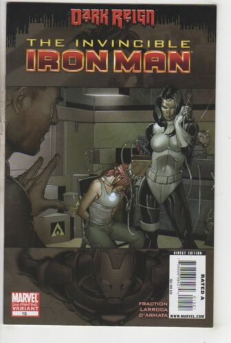 Invincible Iron Man 15 Second Printing VARIANT Marvel 2009
