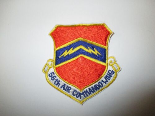 b6153 US Air Force Gun Ship 56th Air Commando Wing patch blue stitching IR23CReproductions - 156445