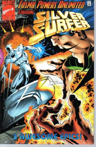 Cosmic Powers Unlimited 3   Silver Surfer    Marvel 1995