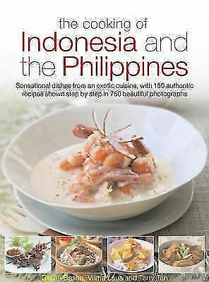 "LIKE NEW ""Cooking of Indonesia and the Philippines"" Ghillie Basan et al"