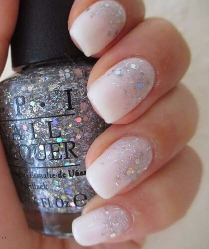 OPI Wizard of OZ ~WHICH IS WITCH?~ Silver Holo Glitter Nail Polish Lacquer T60