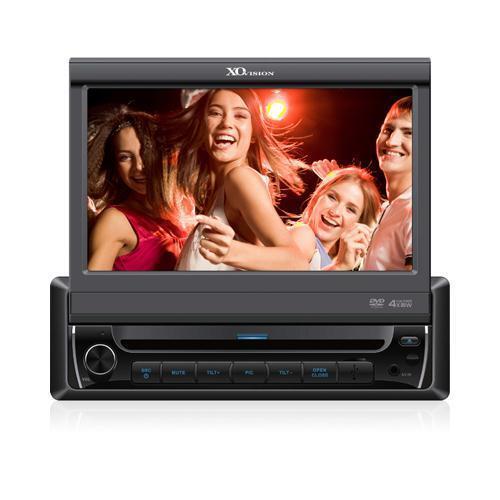 """XO Vision X341BT - 2-DIN DVD/CD Receiver with 7"""" LCD and Bluetooth"""