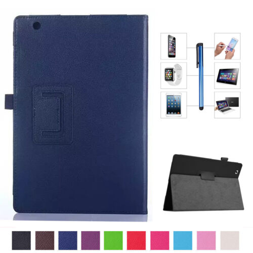 """Synthetic Leather Stand Case Cover For Sony Xperia Z1 Z2 Z3 Z4 10.1"""" 8"""" Tablet"""