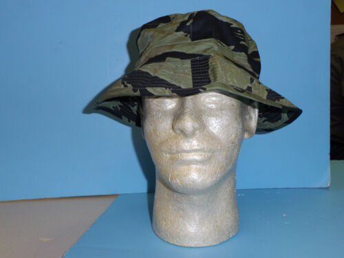 tsh2 Tiger Stripe Camouflage Boonie Hat 7 1/2 (60) w2cReproductions - 156445