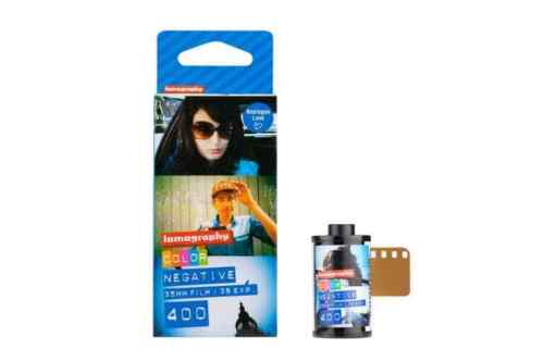 Lomography 35mm ISO 400 Color Negative Film 36 Exposure (3-Pack)