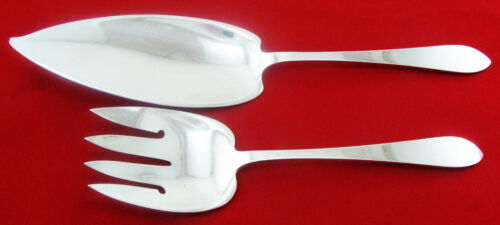 Faneuil by Tiffany & Co. All Sterling 2-PC FISH SET,  No Mono