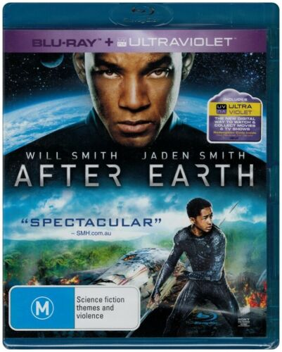 """""""AFTER EARTH"""" Blu-ray - Region Free [B][A][C] NEW - CLEARANCE -"""