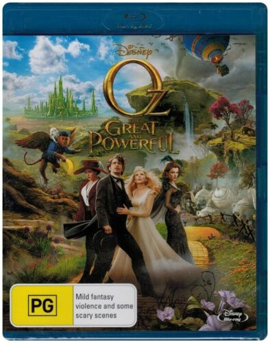 """Oz - THE GREAT AND POWERFUL"" Blu-ray - Region Free [B][A][C] NEW"
