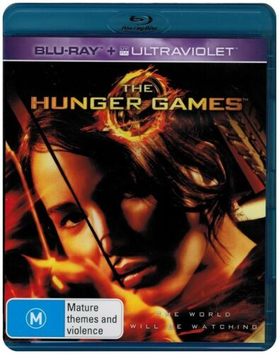 """""""THE HUNGER GAMES"""" Blu-ray + UV - Region [B] NEW - CLEARANCE -"""