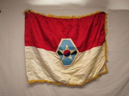 flag1123 US United States Combined Field Army ROK-US South Korea 1980's W11EOriginal Period Items - 13983
