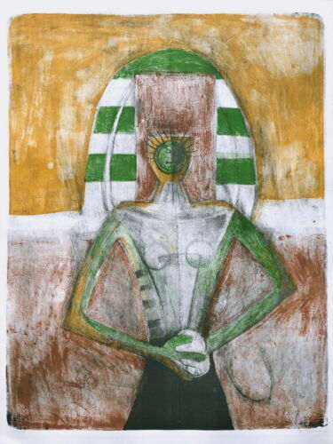 Carnavalesca, Limited Edition Color Lithograph, Rufino Tamayo