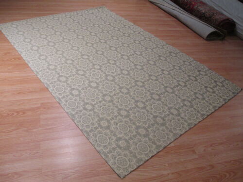6x8 ABC Collection Designer Flat Weave Handmade Wool Transitional Rug 583191