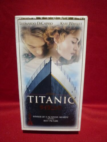TITANIC MOVIE SPECIAL CHINESE ISSUE 2 VHS VIDEOS WIDESCREEN VGC