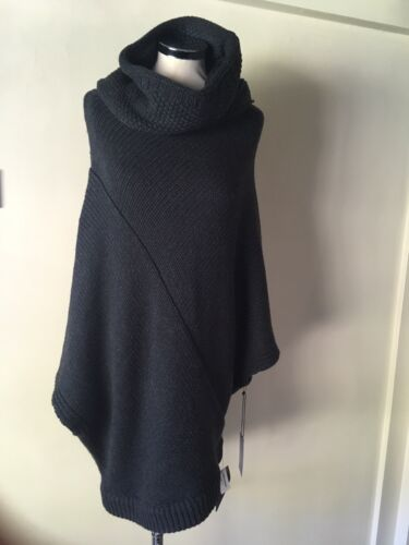 DUFFY Poncho Style Jumper Knit Top Sweater
