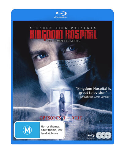 Stephen King's Kingdom Hospital - Complete Series Blu-Ray [New/Sealed]