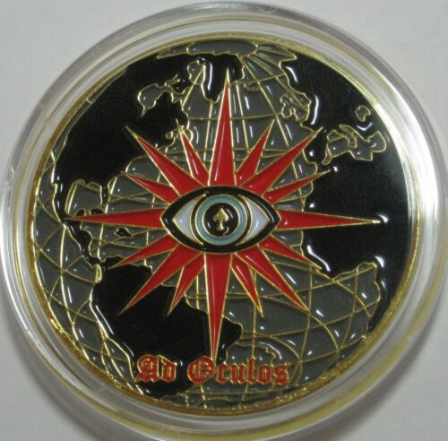 CIA Spy vs Spy  Challenge coin Unique The work of a nation  2  40