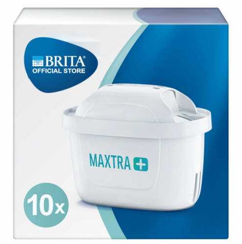 BRITA MAXTRA+ Water Filter Cartridge Refill With Microflow Technology 10 Pack