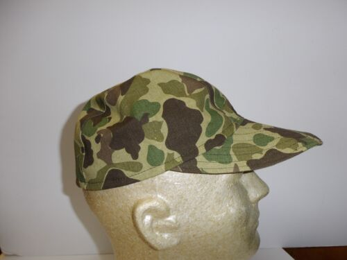 e1952XL Vietnam French Indochina Duck Hunter Camouflage Baseball Cap X-Large W8BReproductions - 156445