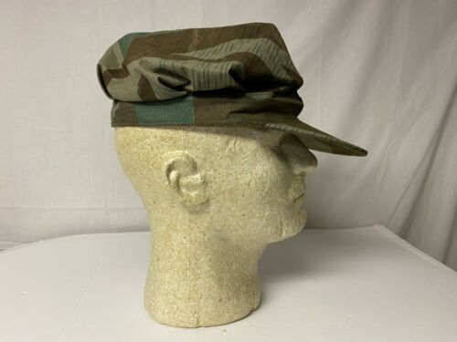 e1953L Vietnam French Indochina German WW2 Camouflage Field Cap Large W8BReproductions - 156445