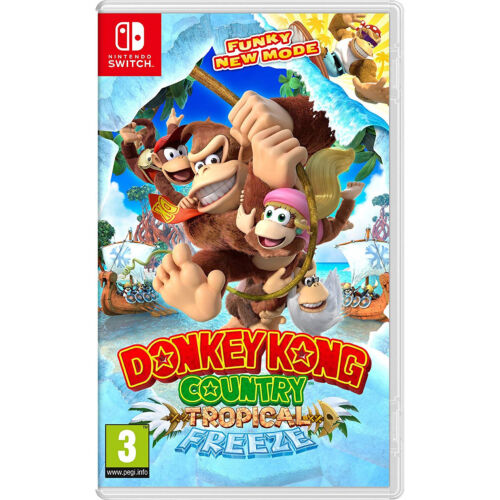 Nintendo Donkey Kong Country: Tropical Freeze Video Game Nintendo Switch System