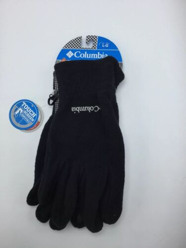 New Columbia Thermarator Fleece Black Winter Gloves Men's Size Large