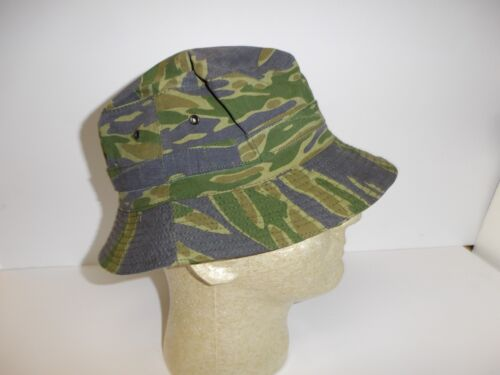 e1992-57 RVN Vietnam Tiger Stripe Boonie late war Hat size 56-58 W11FReproductions - 156445