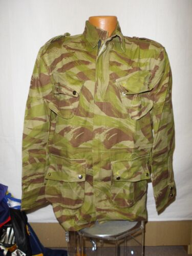 e1996-50 French Indochina Paratrooper Jump Jacket Lizard Camouflage size 50 W11F