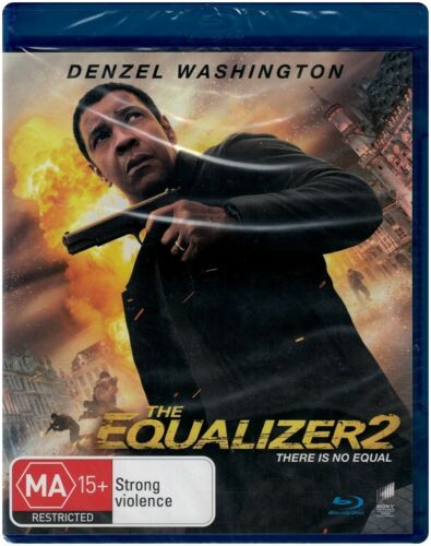 """THE EQUALIZER 2"" Blu-ray - Regions [B][A] BRAND NEW"