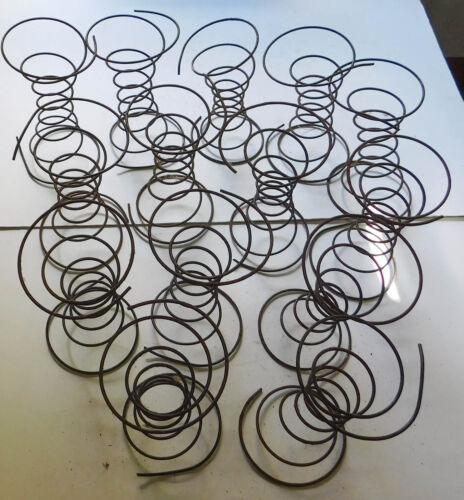 14 Antique Vintage Metal Coil Springs Chair Furniture Salvage