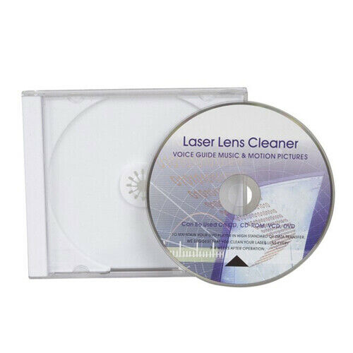 CD/DVD Lens Portable Cleaner Head Dirt Cleaner Restore Kit in a Jewel Case