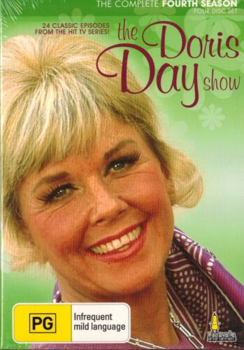 THE DORIS DAY SHOW,  SERIES 4 Classic American Comedy 4 Disc Set..BRAND NEW