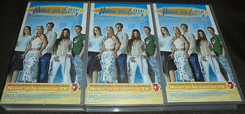 3 X BULK LOT (VHS TAPES) HOME AND AWAY (SECRETS AND THE CITY)
