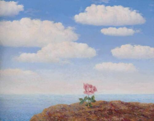 Rene Magritte Utopia Canvas 16 x 20  #4178