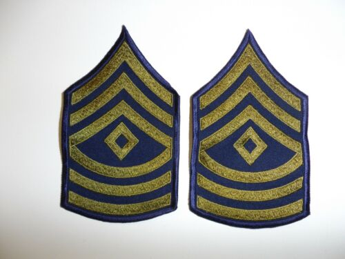 e2325 Korea US  Army First Sergeant Chevrons pair R2EReproductions - 156441