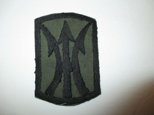 e0429 US Army Vietnam 11th Infantry Brigade   IR14DReproductions - 156445