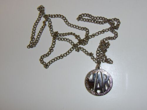 b2624 Vietnam GI WAR Necklace Pendant With Chain IR39AReproductions - 156472