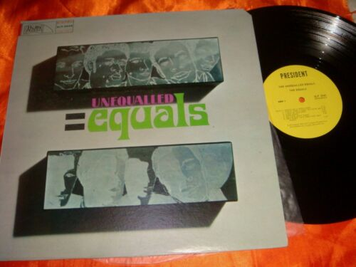 THE EQUALS, Unequalled Equals, 12-inch Vinyl LP, 33 rpm, Made in England