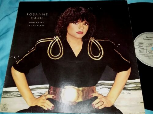 Rosanne Cash, Somewhere In The Stars,12-inch Vinyl LP 33 rpm, Made in Germany