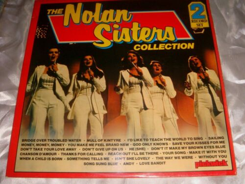 The Nolan Sisters Collection, 12-inch vinyl 33 rpm 2-Record Set, Made in England