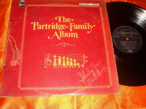 The Partridge Family Album, 12-inch LP vinyl record 33 rpm, Made in Singapore