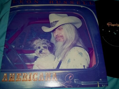 Leon Russell, AMERICANA 12-inch Vinyl LP Record, 33 rpm, Made in USA