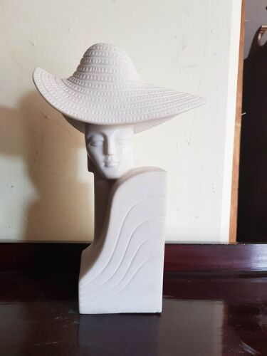 "BELLISSIMO BUSTO IN MARMO ""DONNA """